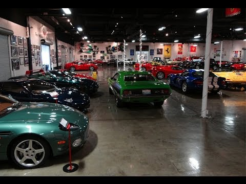 huge expensive private car collection youtube