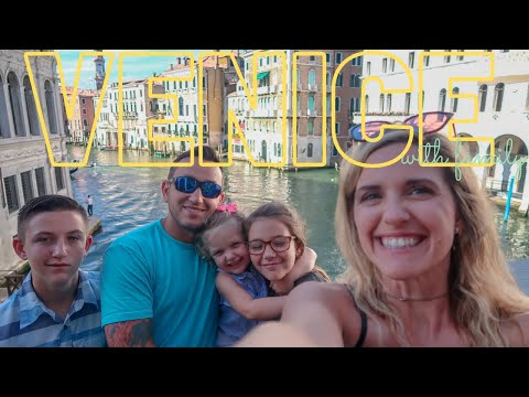 Venice Italy! Family Travel | Venice With Kids.