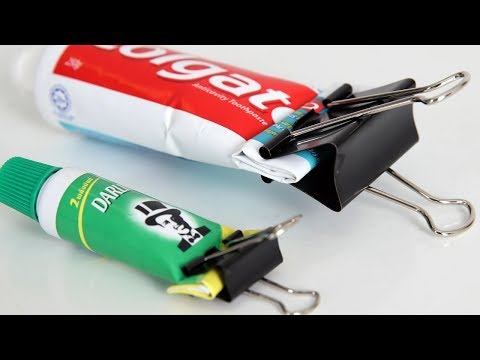 30 Mind Blowing Uses For Binder Clips | Easy Home Life | Compilation