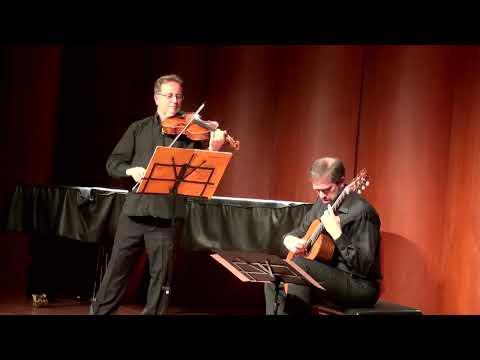 "Franz Schubert: Sonata in A minor, D. 821 ""Arpeggione"" - Duo Dieci-Beluffi"