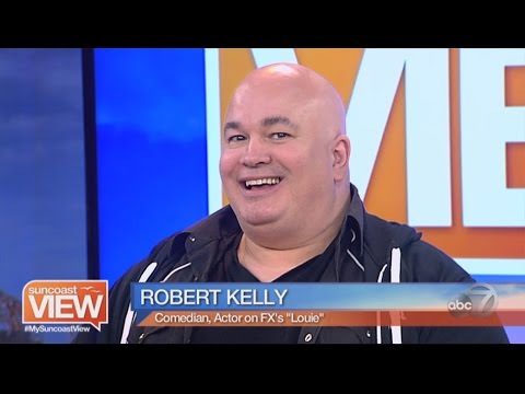 COMEDIAN AND ACTOR ROBERT KELLY INTERVIEW - SUNCOAST VIEW