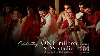 Actress Ashwathy Warrier & Abilash Unnikrishnan, | I'M A Mallu Wedding Lip Dub by SDS Studio