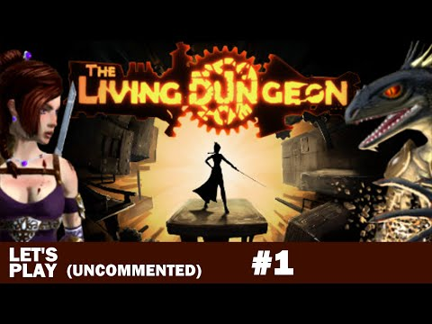 The Living Dungeon Gameplay #1 with Steam Controller