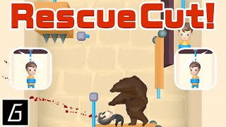 Rescue Cut Gameplay - First Levels 1 - 60 (iOS - Android)