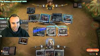 "Bajheera - MTG: ""MY FIRST MAGIC CARD BATTLE!"" - Magic: The Gathering Arena Gameplay"
