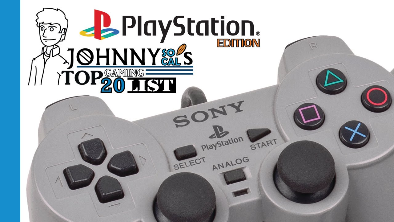 Top Best 20 Playstation / PS1 games | 1995-2002 | SoCal's Countdown