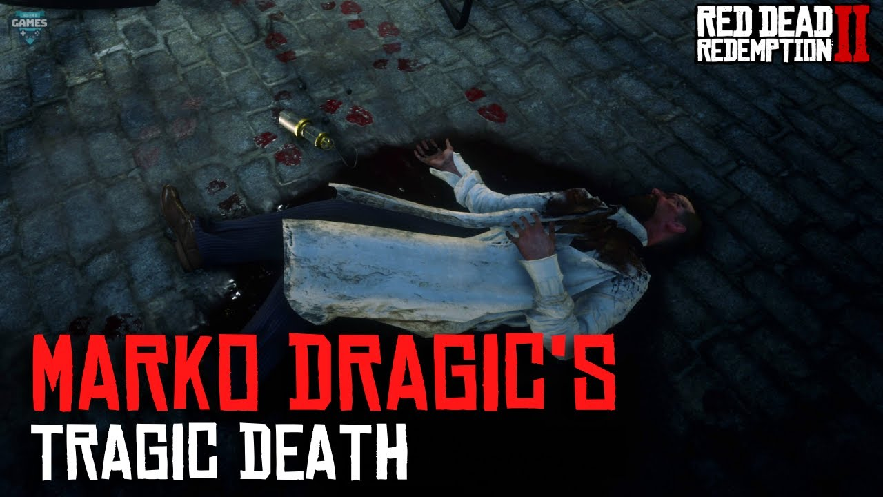 Red Dead Redemption 2 - Marko Dragic's Tragic Death: Killed by His Own Robot??? + Electric Lantern