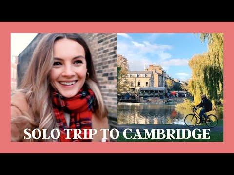 {ad} SOLO TRIP TO CAMBRIDGE