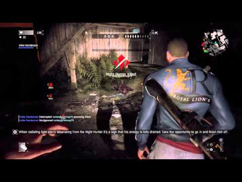Dying Light Night Hunter vs. TeamBaggers