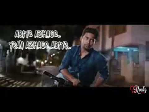 Adiye Azhage || love tamil whatsapp status...
