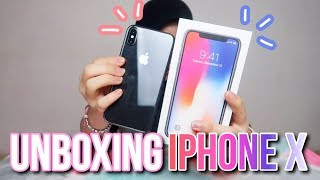 UNBOXING IPHONE X!!!!!!! ♡ INDONESIA