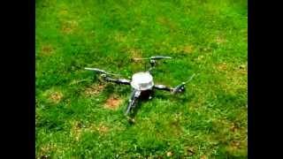 Quadricóptero usando materiais reciclados