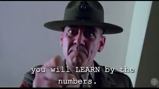 cc SERGEANT HARTMAN - Full Metal Jacket