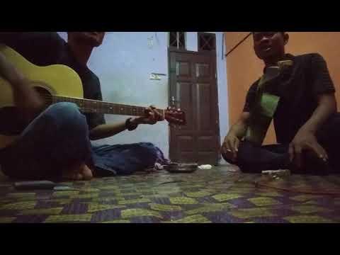 Yoki berampu gitar cover lagu Judika - Mapala