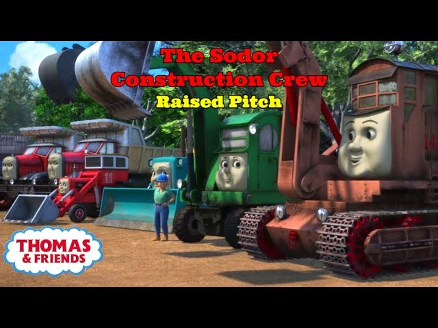 The Sodor Construction Crew (Raised Pitch) | Thomas & Friends