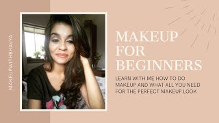 Makeup for beginners || how to do makeup|| from base to setting