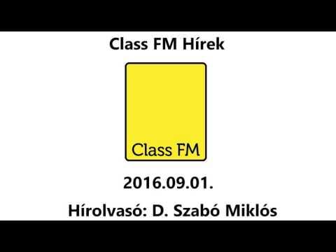 Class FM hírek 2016. 09. 01. mp3 letöltés