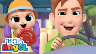Daddy, I Want To Be Like You! | Little Angel Kids Songs and Nursery Rhymes