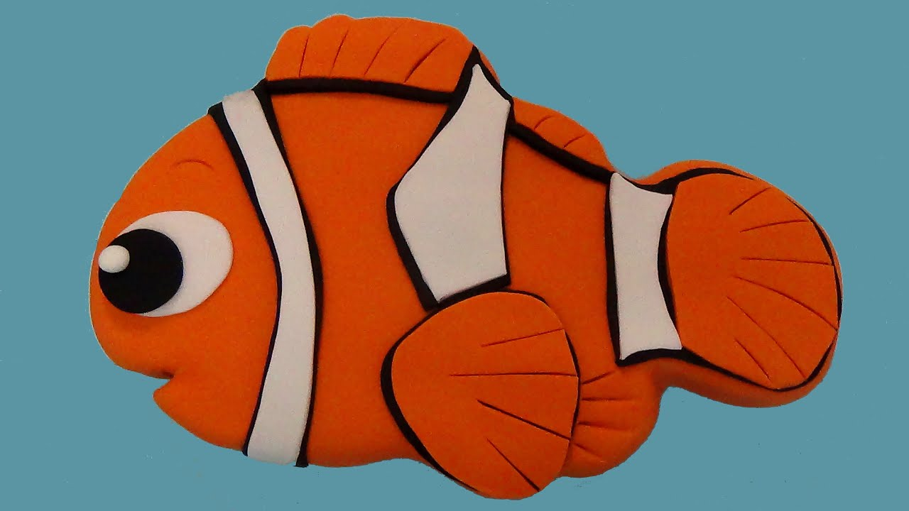 nemo cake template - how to make nemo cake youtube