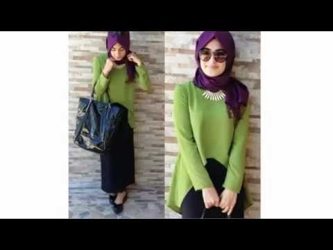 موضة ملابس محجبات كاجوال 2016 Casual Hijab Fashion Style 5