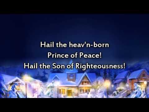 Hark the Herald Angels Sing - Instrumental with lyrics