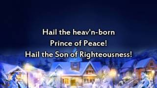 Hark the Herald Angels Sing - Instrumental with lyrics