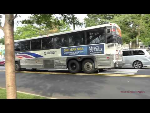 Buses in Northern New Jersey (20 minutes away from New York)