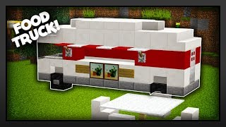 Minecraft - How To Make A Food Truck