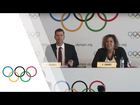 IOC Executive Board - IOC Press Briefing with Kit McConnell