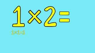"""1 Times Table Song - Fun for Students - from """"Multiplication Jukebox"""" CD by Freddy Shoehorn"""