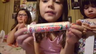 Old-fashioned Candy taste test featuring candy cigarettes, candy buttons, and more