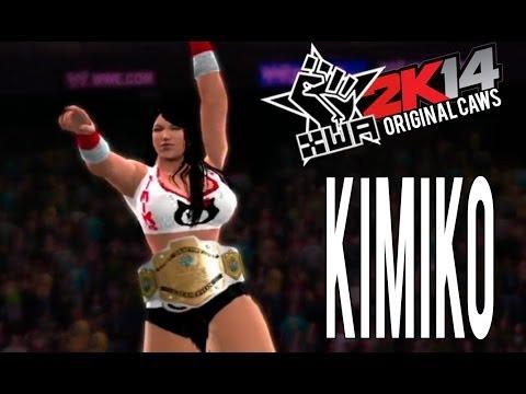 Kimiko (XWA2K14 CAW) WWE 2K14- PS3