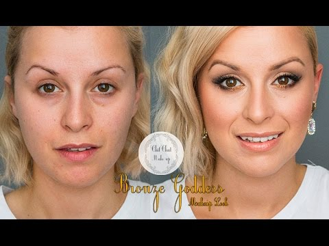 Chit Chat makeup - Bronze Goddess Makeup tutorial