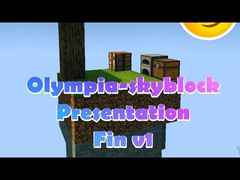 Olympia Skyblock Presentation /fin V1