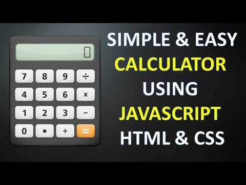 Create Simple Calculator Using JavaScript HTML And CSS In Hindi 2018