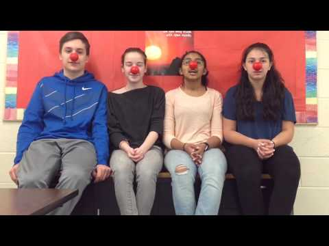 The Red Nose Challenge: East Hanover Middle School (3)