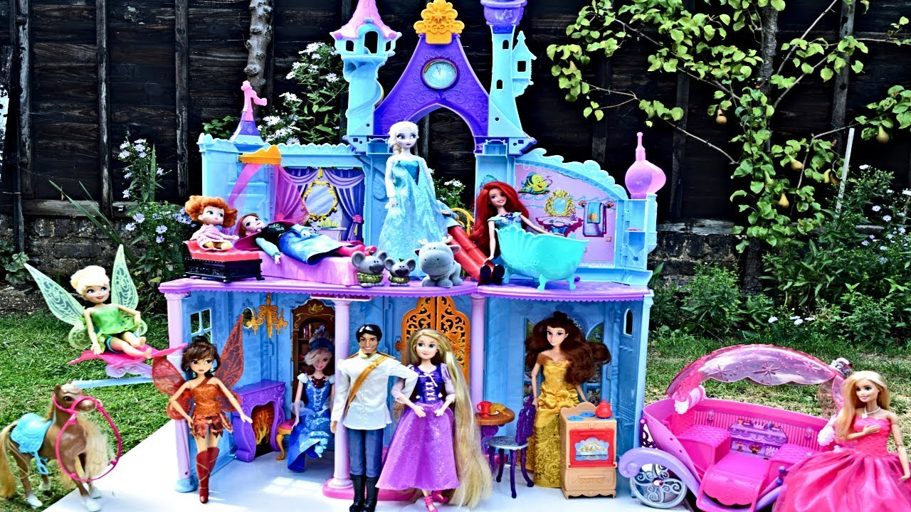 Disney Princessas Bell Castillo Princess Royal Rapunzel De Princesses Magico Castle Chateau Las ybfg6vY7