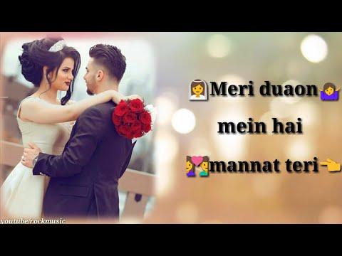 Romantic Status  Meri Duaon Mein Hai Mannat Teri Female Version   New Whatsaap Status  