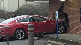 Tesla Crash and Fail  Compilation