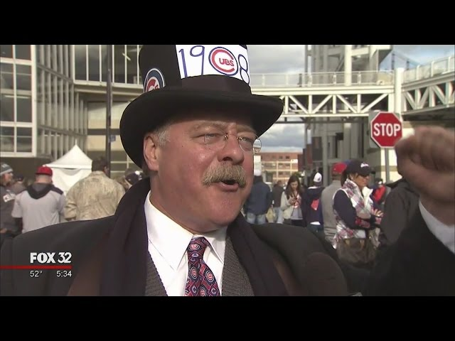 'Teddy Roosevelt' pulling for the Cubs