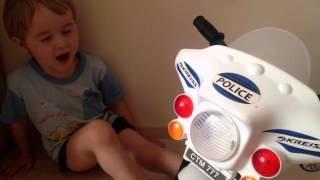 Детский полицейский мотоцикл