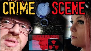 RANDONAUTING USING THE SCARIEST APP EVER - We Found A Legit CRIME SCENE Do NOT Play This App!
