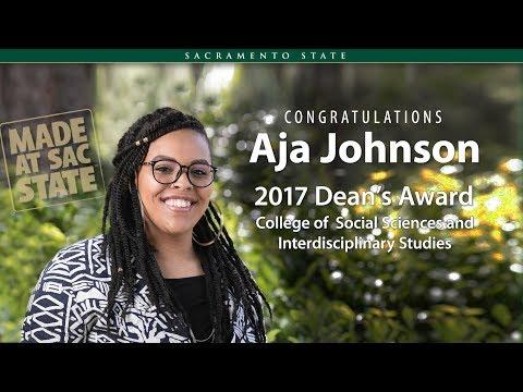 Aja Johnson - College of Social Sciences and Interdisciplinary Studies
