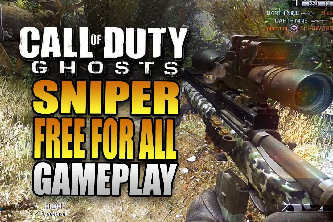 Call of Duty: Ghosts Quickscoping Gameplay - SILENCED USR ...