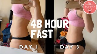 FASTING 48 HOURS (NO FOOD, WATER ONLY) FOR BEGINNERS