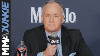 NSAC executive director Bob Bennett addresses media post-UFC 235