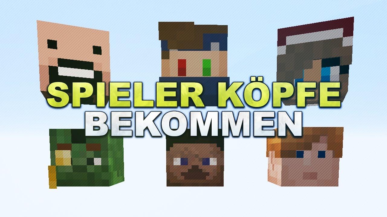 Minecraft Spieler KöpfeSkulls Durch PVP Bekommen Tutorial - Minecraft spielerkopfe erstellen