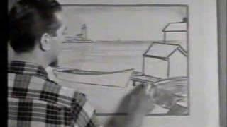 Jon Gnagy Lesson: Seaport Village