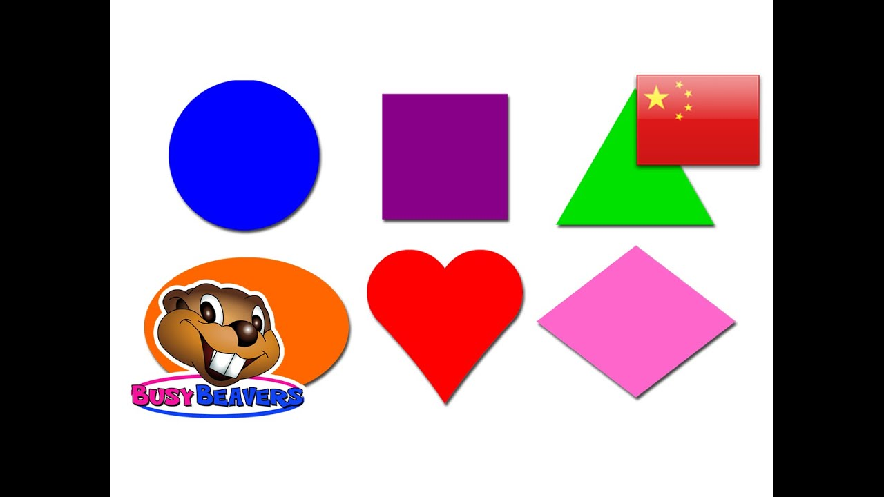 """Shapes Lesson"""" (Chinese Lesson 06) CLIP - Learn Shape Names Mandarin ..."""