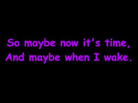 Annie Jr - Maybe with Lyrics